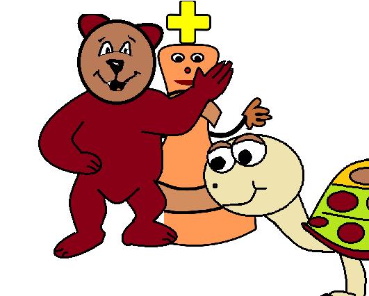 tenőc és medve