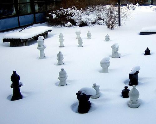 téli szünet sakk